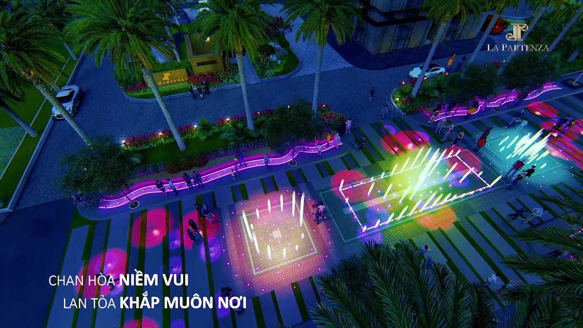 Quảng trường Ánh sáng Dự án LA Partenza Lê Văn Lương