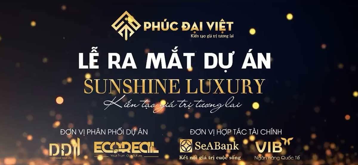 ra mat du an Sunshine Luxury - DỰ ÁN SUNSHINE LUXURY ĐÀ NẴNG