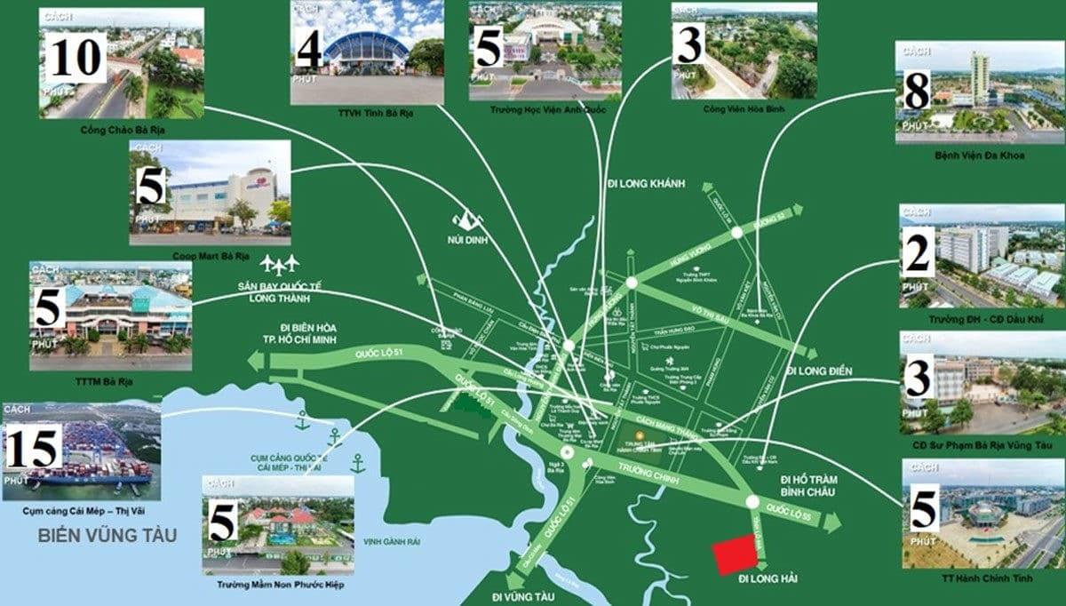 Tiện ích Dự án Khu dân cư Long Điền Bà Rịa Vũng Tàu