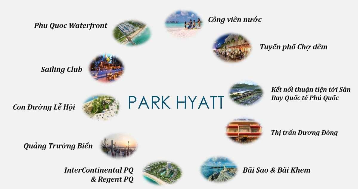 tien ich lien ket vung park hyatt phu quoc - DỰ ÁN BIỆT THỰ PARK HYATT PHÚ QUỐC