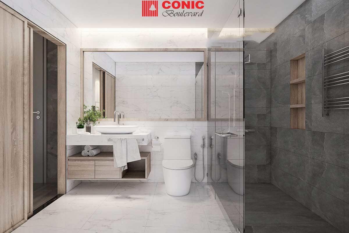 toilet can ho conic boulevard quan 6 1 - DỰ ÁN CĂN HỘ CONIC BOULEVARD BÌNH CHÁNH