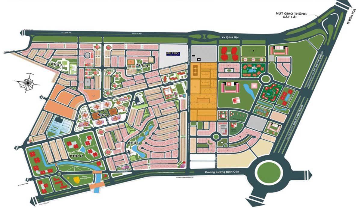 Vị trí Dự án An Phú New City Quận 2