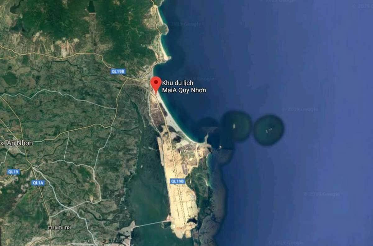 Vị trí Dự án Maria Quy Nhơn Beach Resort