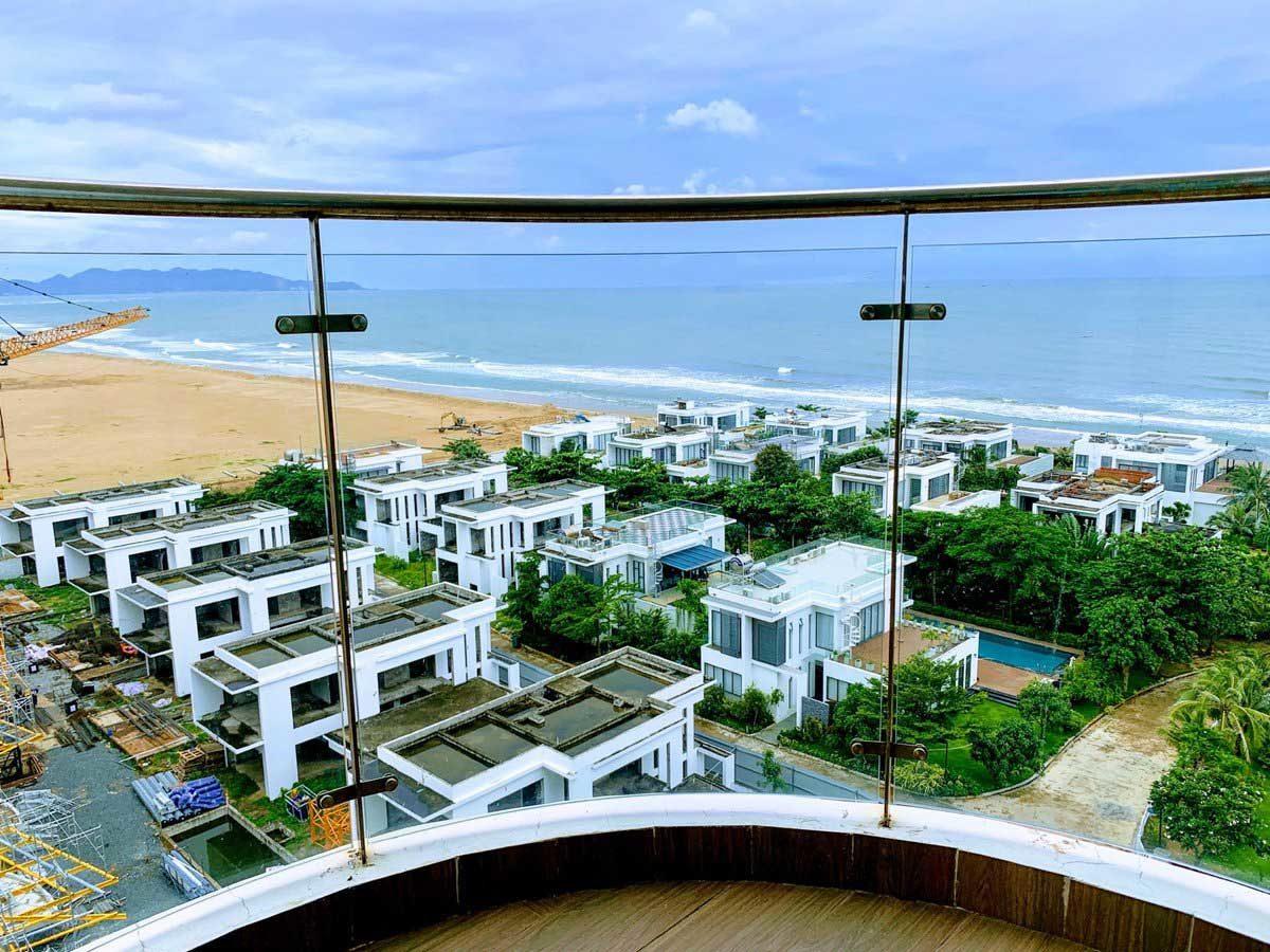 View biển từ Căn hộ Condotel Blue Sapphire Vũng Tàu