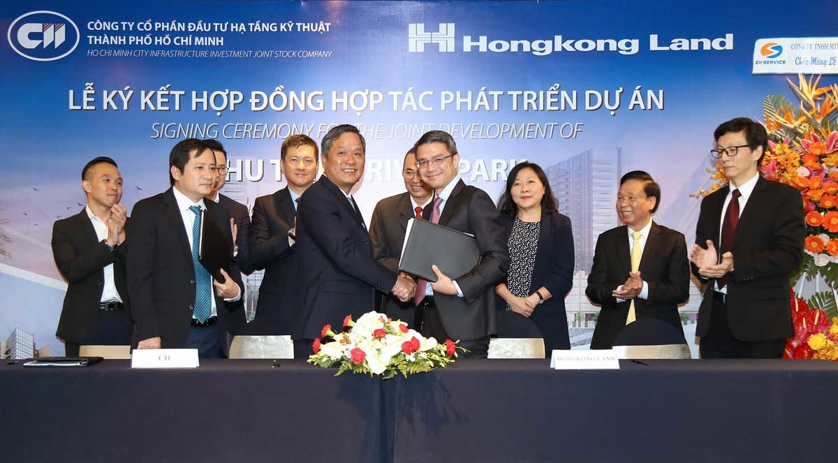 CII và Hongkong Land đã chính thức tiến hành ký kết hợp đồng hợp tác phát triển dự án Thủ Thiêm River Park - GIỚI THIỆU VỀ TẬP ĐOÀN HONGKONG LAND