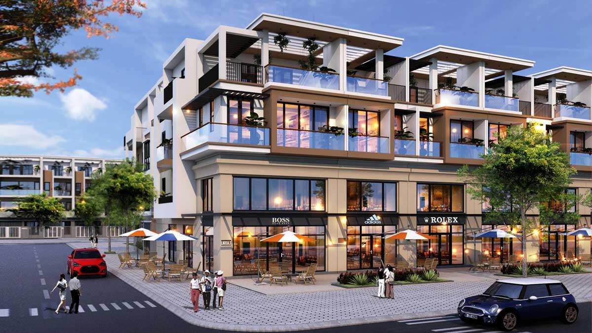 Nha pho thuong mai Shophouse TNR Amaluna Tra Vinh - DỰ ÁN KHU ĐÔ THỊ TNR AMALUNA TRÀ VINH