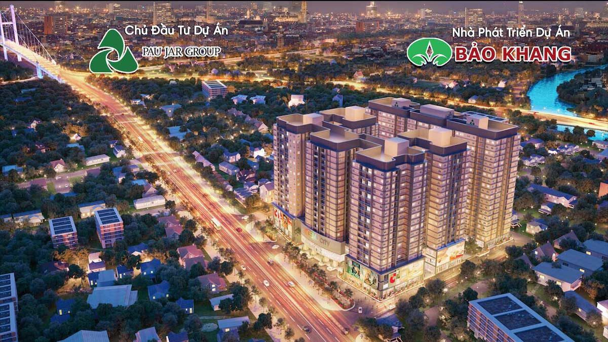 Phối cảnh Dự án Căn hộ Chung cư Cosmo City II Nguyễn Thị Thập Quận 7