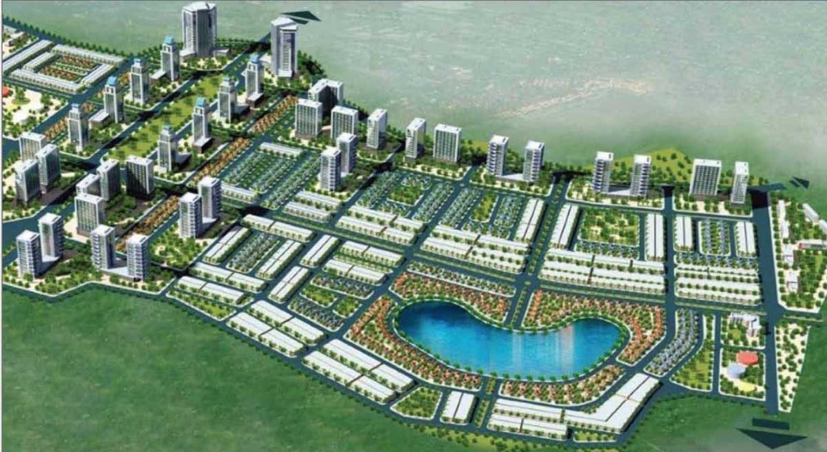 Phối cảnh Dự án Khu đô thị Đông Bình Dương