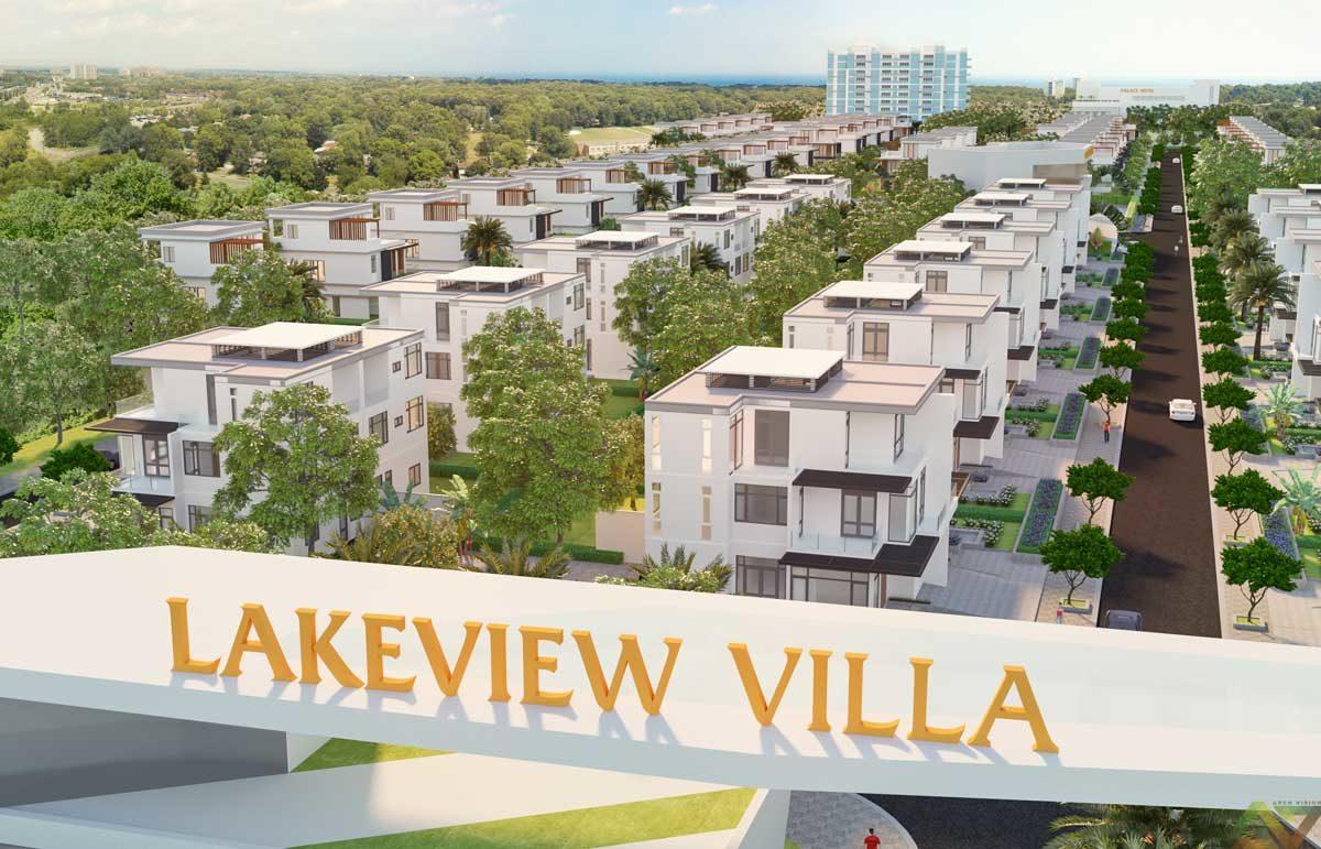 Dự án The LakeView Villa Phú Mỹ Bà Rịa Vũng Tàu