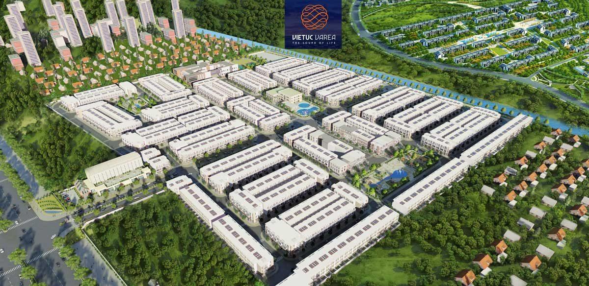 Phối cảnh Dự án Khu dân cư Việt Úc Varea Bến Lức Long An