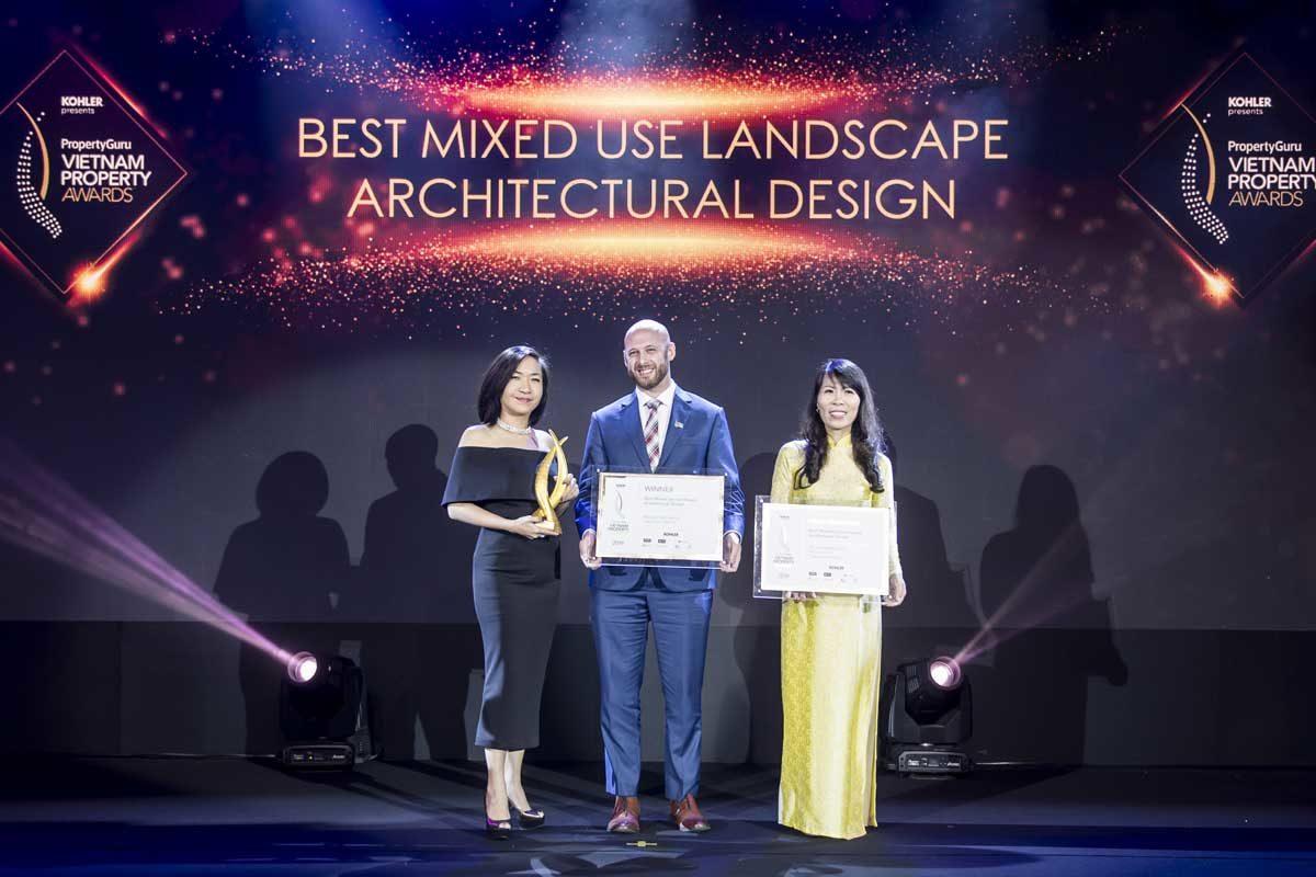 hận giải thưởng khu đô thị có Thiết kế kiến trúc cảnh quan đẹp nhất dành cho dự án Him Lam Green Park