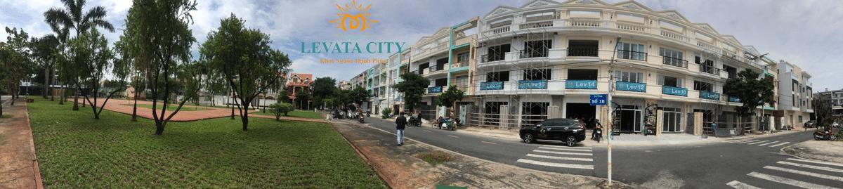 Hình ảnh Dự án Nhà Phố Levata City Bình Tân
