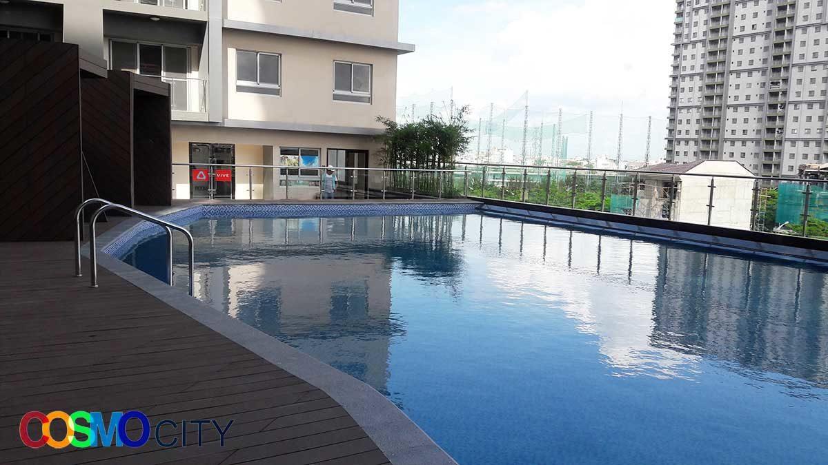 Hồ bơi Dự án Căn hộ Chung cư Cosmo City II Nguyễn Thị Thập Quận 7