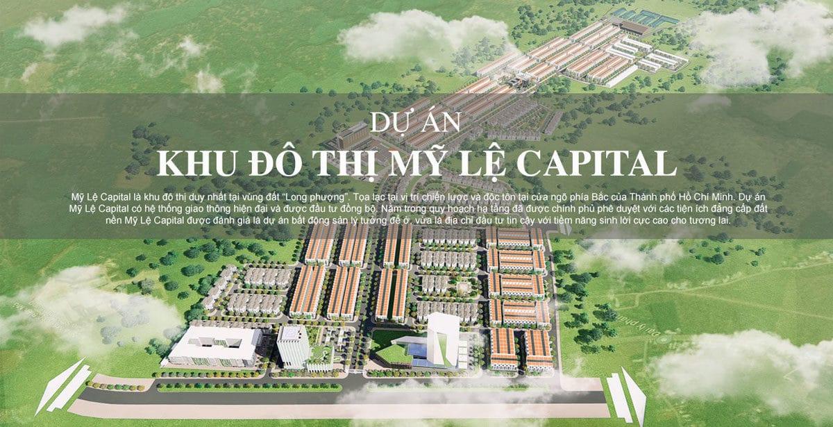khu do thi my le capital - DỰ ÁN KHU ĐÔ THỊ MỸ LỆ CAPITAL BÌNH PHƯỚC