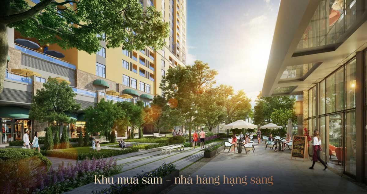 Khu trung tâm thương mại Dự án Căn hộ Soho Residence Cô Giang Quận 1