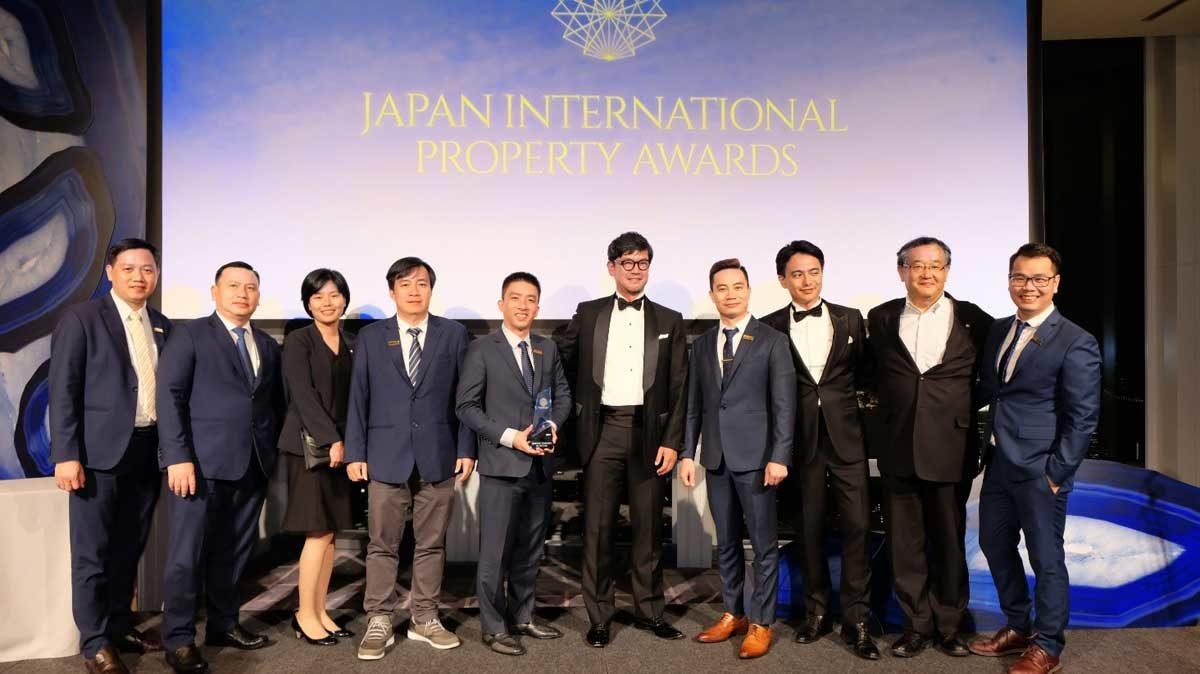 netland dat giai thuong Japan International Property Awards 2019 - CÔNG TY CỔ PHẦN BẤT ĐỘNG SẢN NETLAND