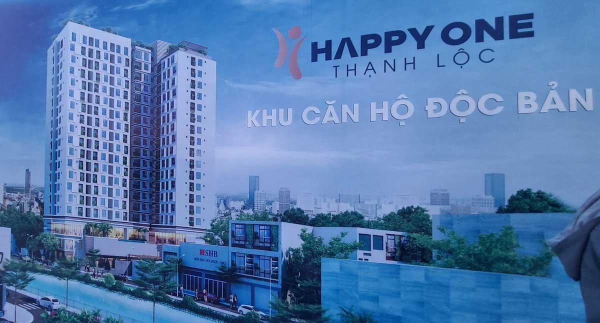 phoi canh du an happy one thanh loc q12 - HAPPY ONE PREMIER THẠNH LỘC QUẬN 12