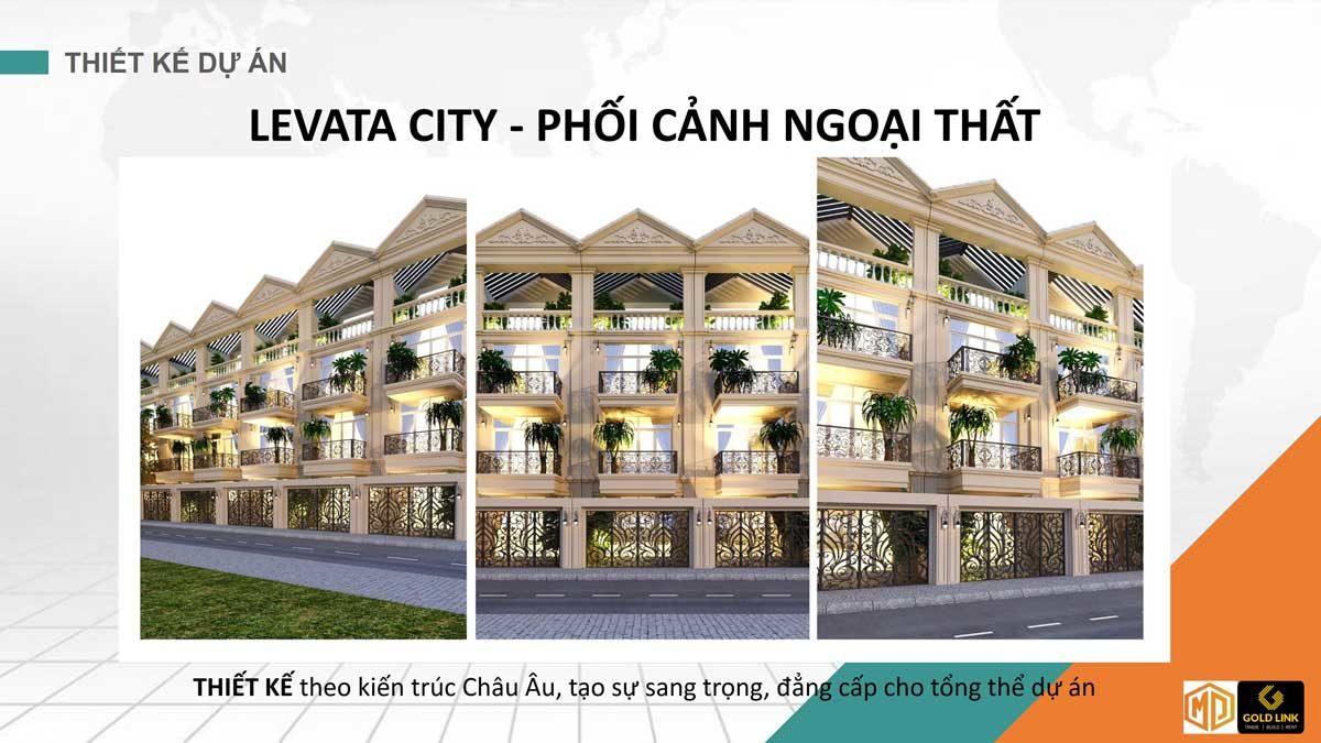 phoi canh nha pho levata city - KHU NHÀ PHỐ LEVATA CITY BÌNH TÂN
