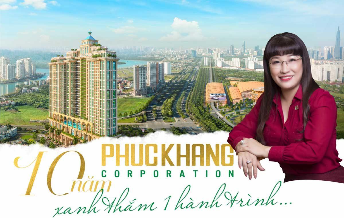 phuc khang 10 nam hanh trinh xanh - CÔNG TY CỔ PHẦN ĐẦU TƯ & XÂY DỰNG PHÚC KHANG