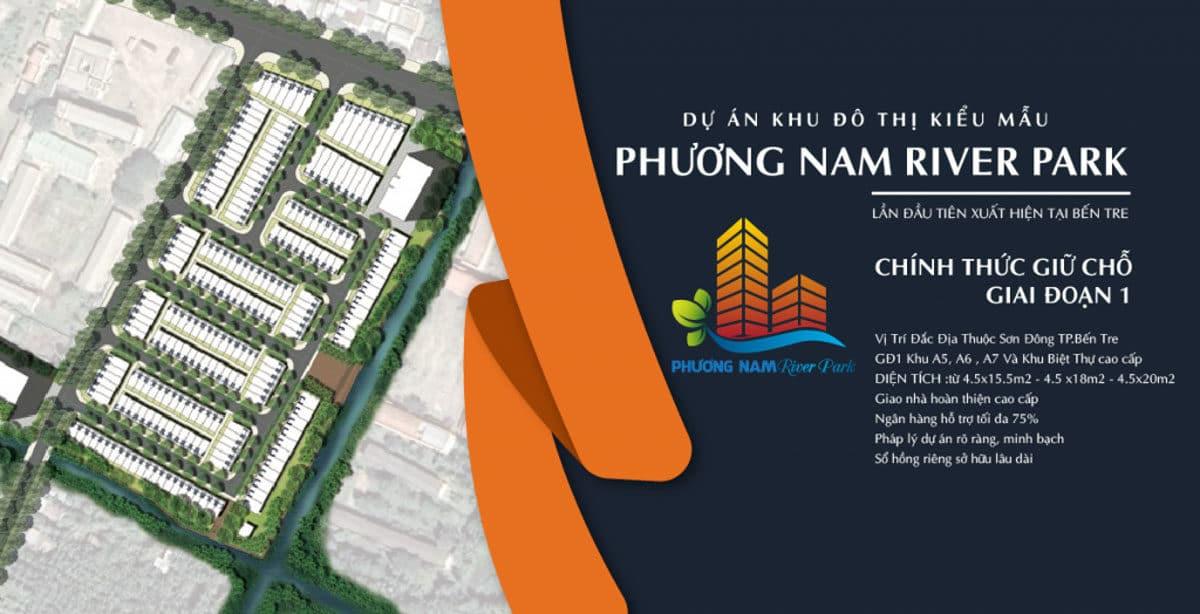 phuong nam river park ben tre - DỰ ÁN PHƯƠNG NAM RIVER PARK BẾN TRE