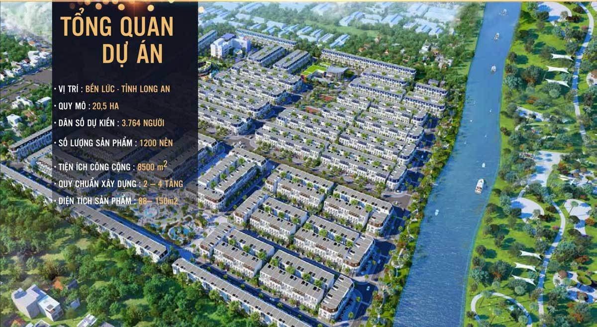 Tổng quan Dự án Khu dân cư Việt Úc Varea Bến Lức Long An