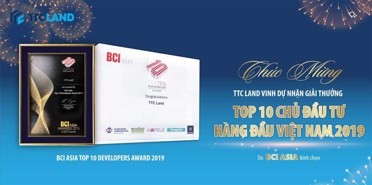 ttcland dat top 10 chu dau tu hang dau viet nam 2019 - CÔNG TY CỔ PHẦN ĐỊA ỐC SÀI GÒN THƯƠNG TÍN (TTC LAND)