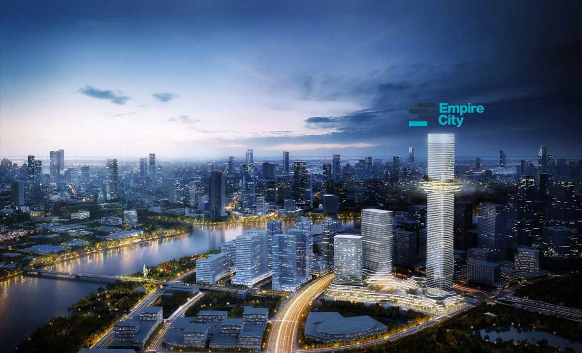 Phối cảnh Dự án Empire City Thủ Thiêm Quận 2