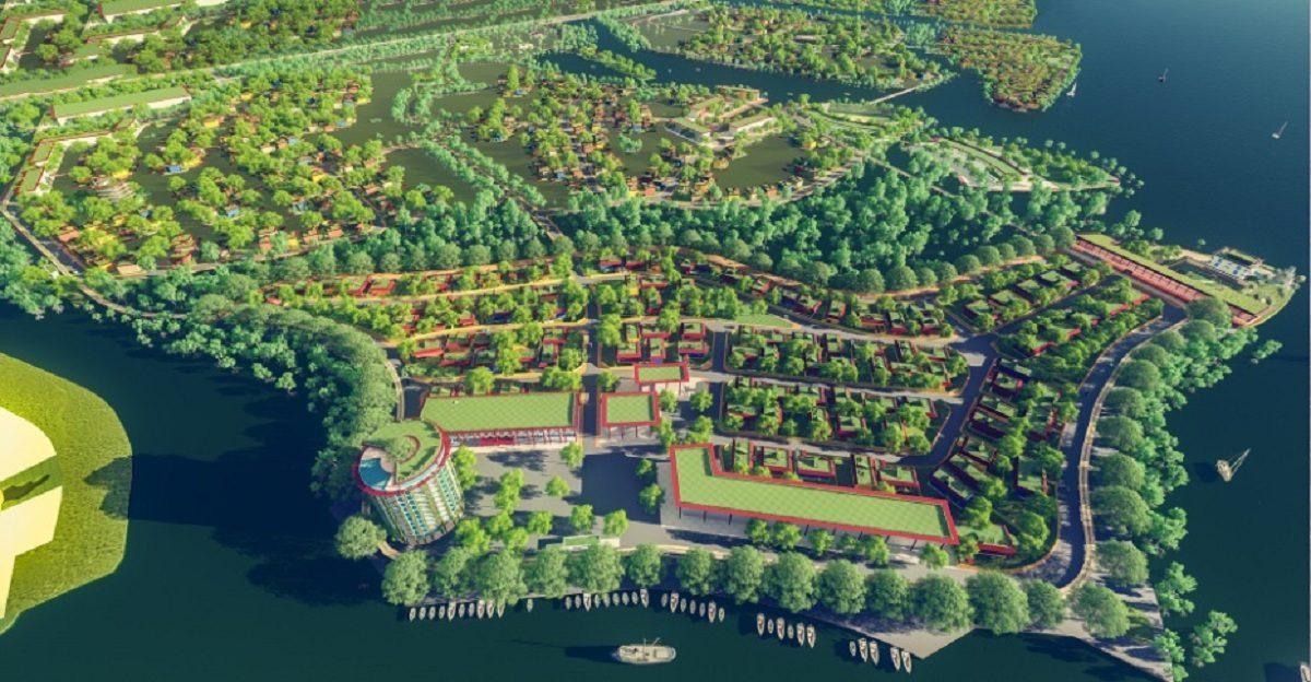 Không gian xanh tổng thể Thị Nài Eco Bay - DỰ ÁN KHU DU LỊCH THỊ NẠI ECO BAY QUY NHƠN