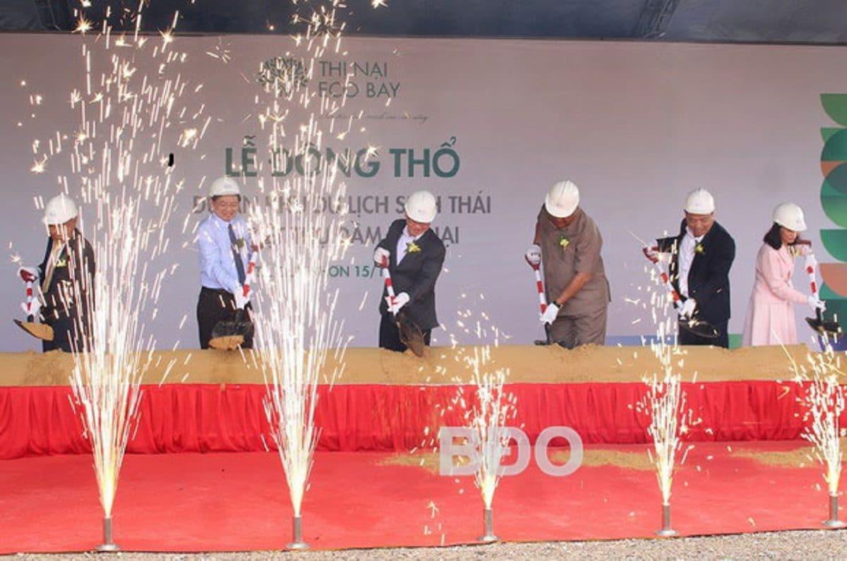 Lễ động thổ dự án Thị Nại Eco Bay