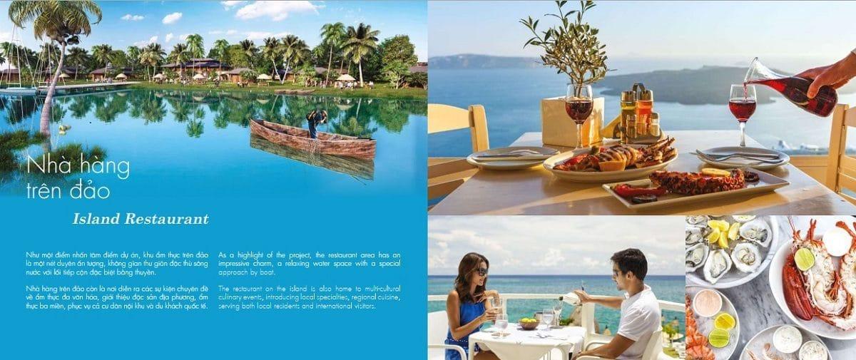 Nhà hàng trên đảo Thị Nài Eco Bay - DỰ ÁN KHU DU LỊCH THỊ NẠI ECO BAY QUY NHƠN