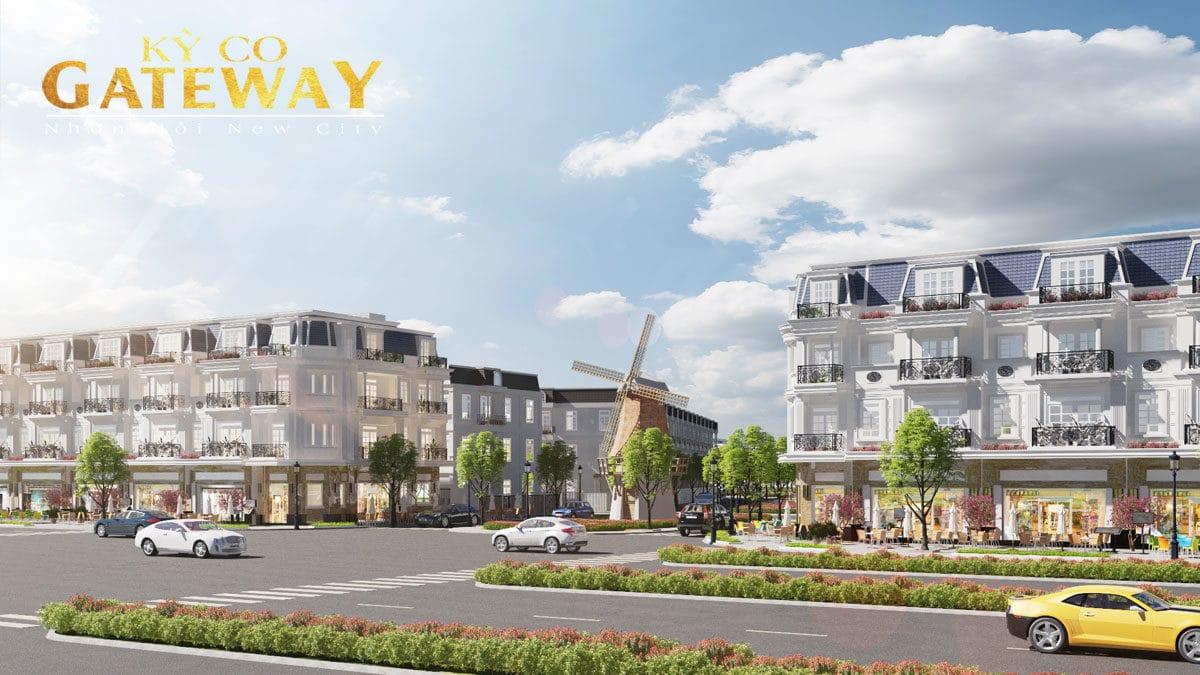 Nha pho thuong mai Ky Co Gateway - KỲ CO GATEWAY QUY NHƠN BÌNH ĐỊNH