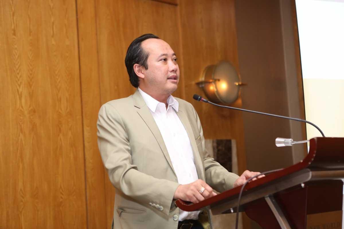 Ong Le Thong Nhat Chu tich Hoi dong Quan tri Danh Khoi - CÔNG TY CỔ PHẦN TẬP ĐOÀN DANH KHÔI