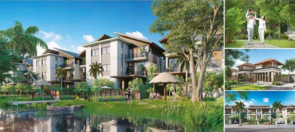 Phối cảnh Biệt Thự Thị Nài Eco Bay