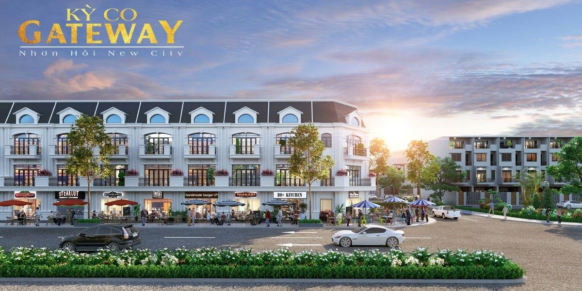 Shophouse trung tam Ky Co Gateway - KỲ CO GATEWAY QUY NHƠN BÌNH ĐỊNH