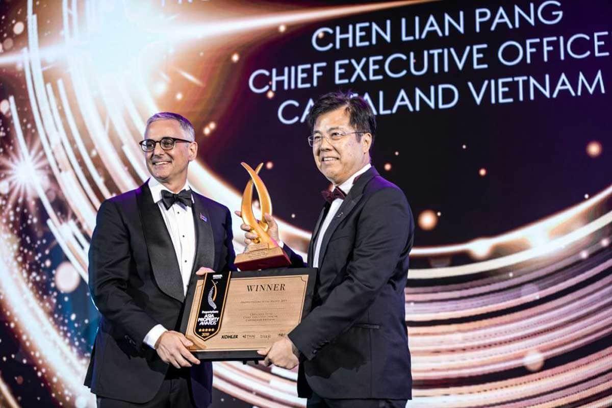Tổng Giám đốc Chen Lian Pang của CapitaLand Việt Nam được vinh danh là Nhân vật bất động sản của năm 2019 - GIỚI THIỆU CHỦ ĐẦU TƯ CAPITALAND VIỆT NAM