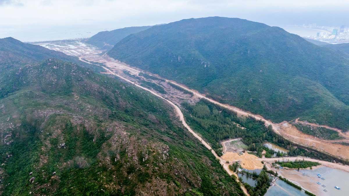 Toan canh cong truong thi cong Du an Hai Giang Merry Land 2021 - HẢI GIANG MERRY LAND QUY NHƠN