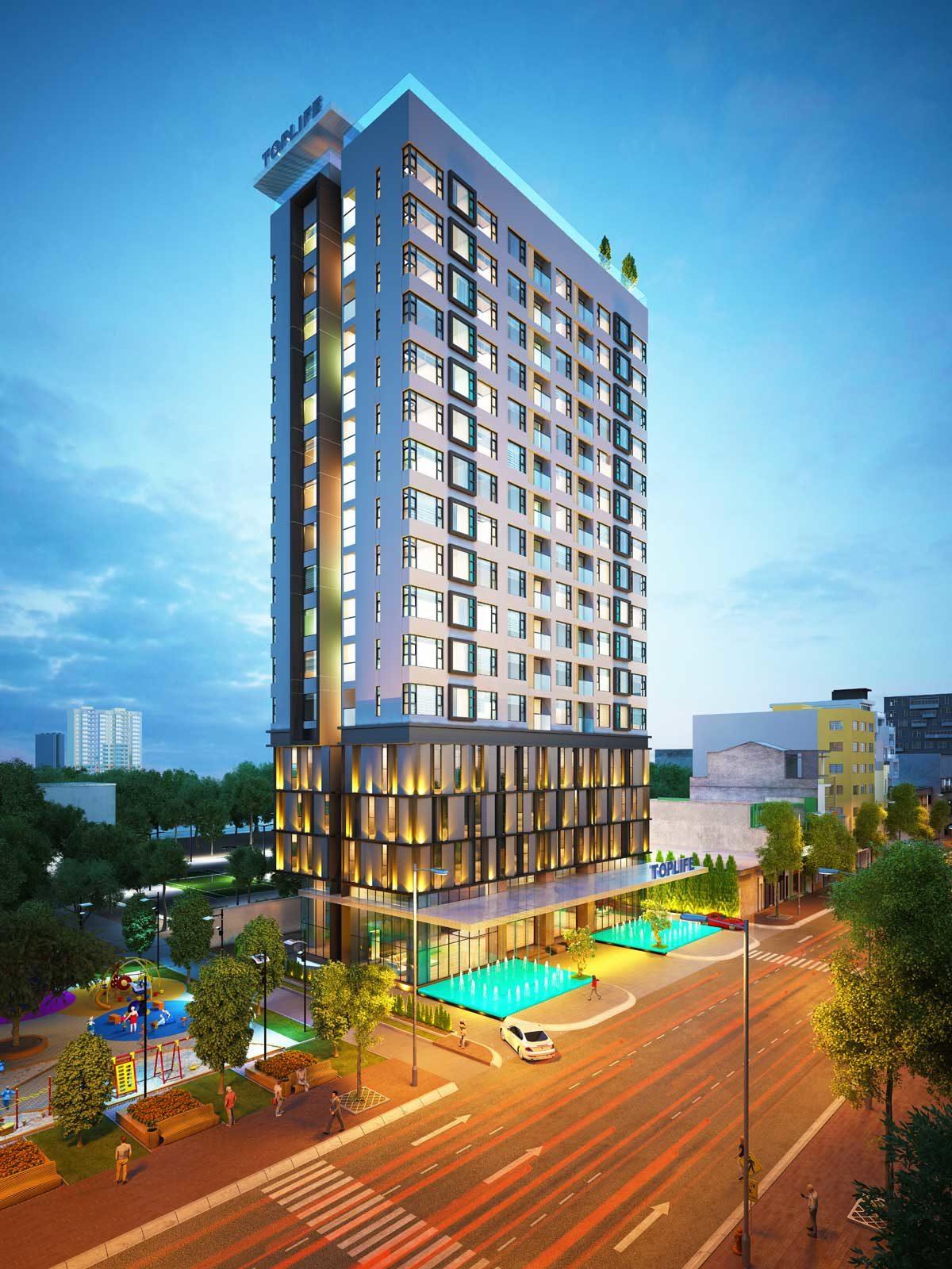 TopLife Tower - CÔNG TY CỔ PHẦN BẤT ĐỘNG SẢN E XIM - EXIMLAND