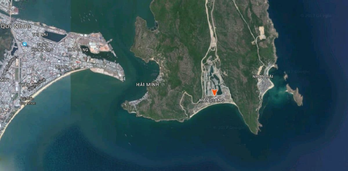 Vị trí Vinpeal Quy Nhơn tại Hải Giang