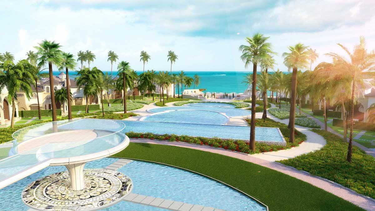 cong vien bien Edenia Resort Ho Tram - DỰ ÁN EDENIA RESORT HỒ TRÀM