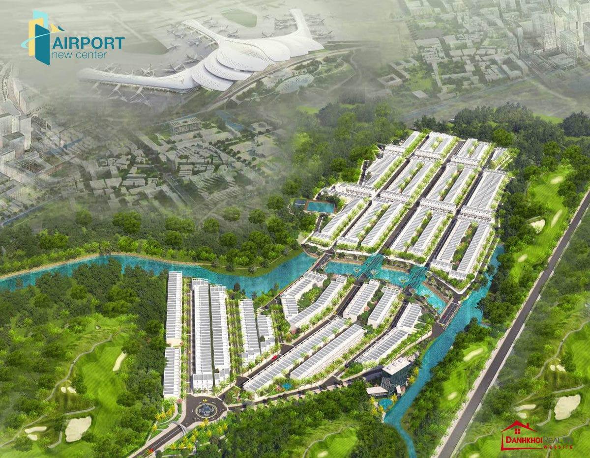 du an dat nen long thanh airport new center - DANH SÁCH DỰ ÁN ĐẤT NỀN LONG THÀNH MỚI NHẤT 2020