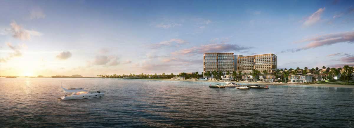 Phối cảnh Dự án Le Meridien Đà Nẵng Resort & Spa