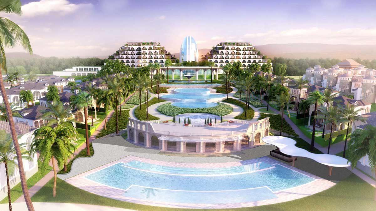 ho boi tai Edenia Resort Ho Tram - DỰ ÁN EDENIA RESORT HỒ TRÀM