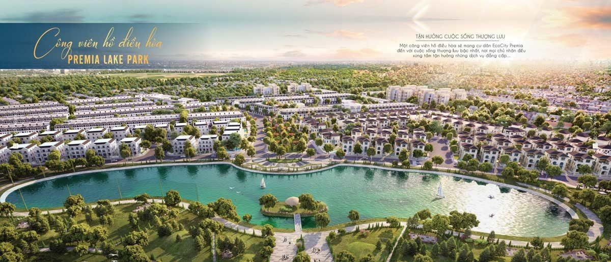khu cong vien ho dieu hoa premia lake park - DỰ ÁN KHU ĐÔ THỊ ECO CITY PREMIA BUÔN MA THUỘT