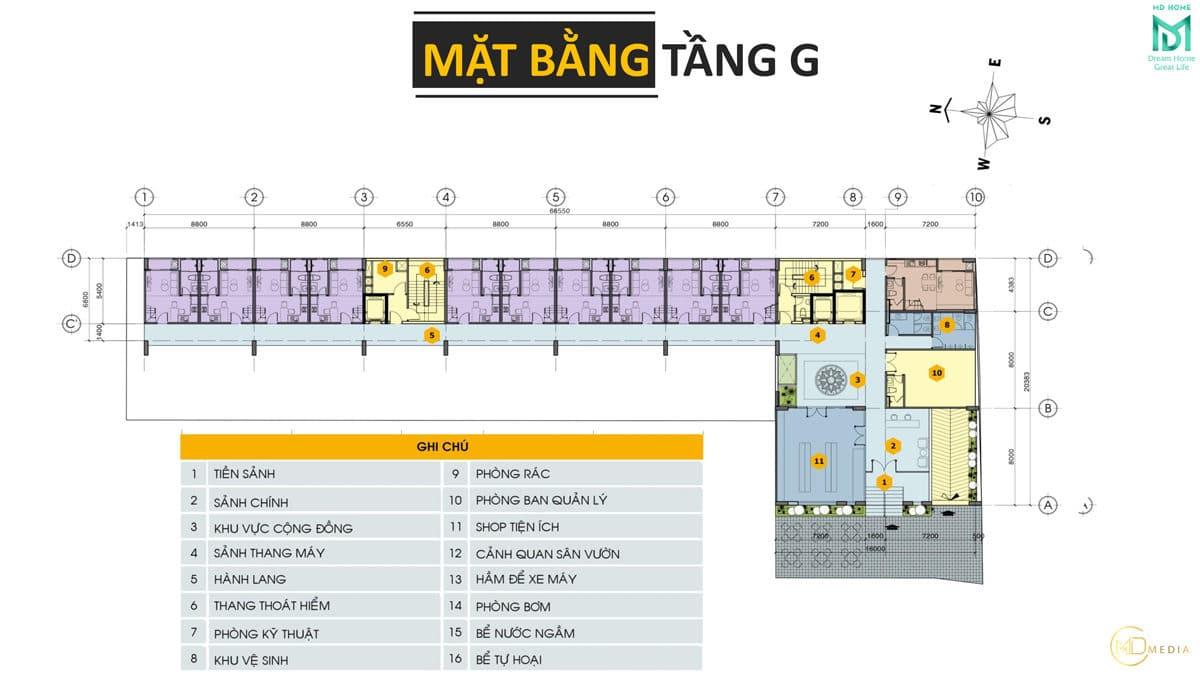 mat bang tang G du an can ho md home an lac - MD HOME AN LẠC - 35 BÙI TƯ TOÀN BÌNH TÂN