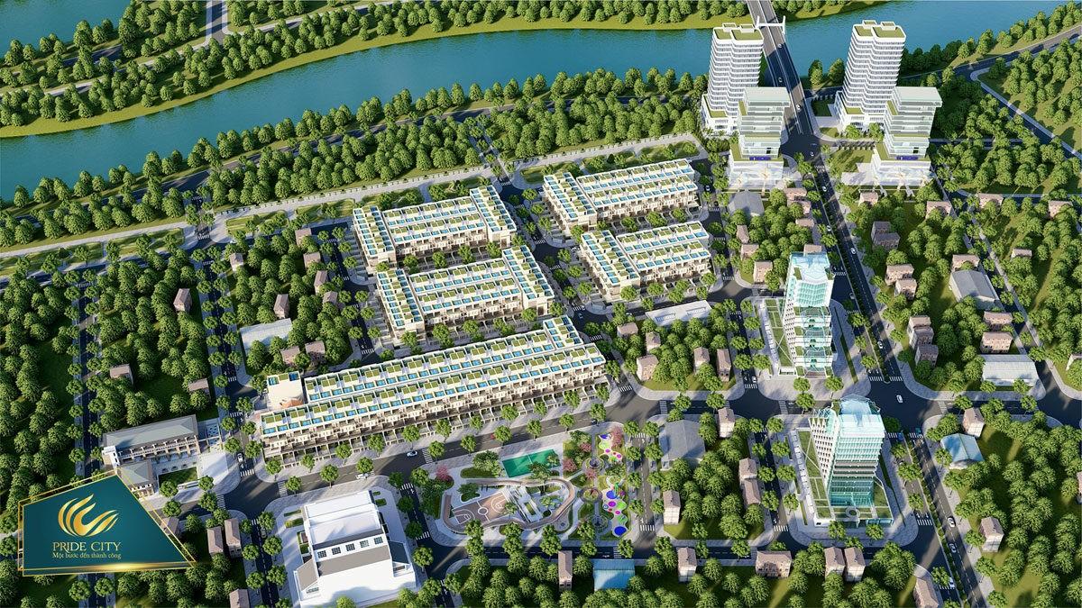 phoi canh du an pride city - DỰ ÁN PRIDE CITY ĐIỆN NGỌC QUẢNG NAM