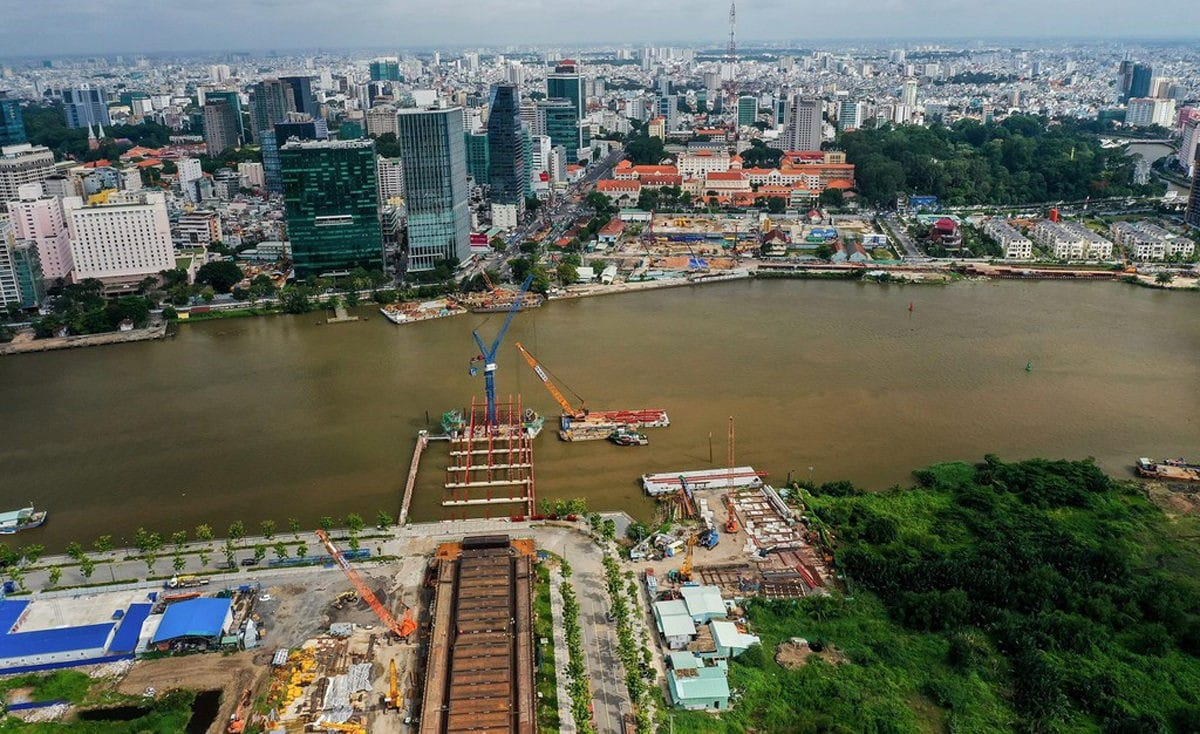 Cầu Thủ Thiêm 2 - Cập nhật tiến độ tháng 01/2020