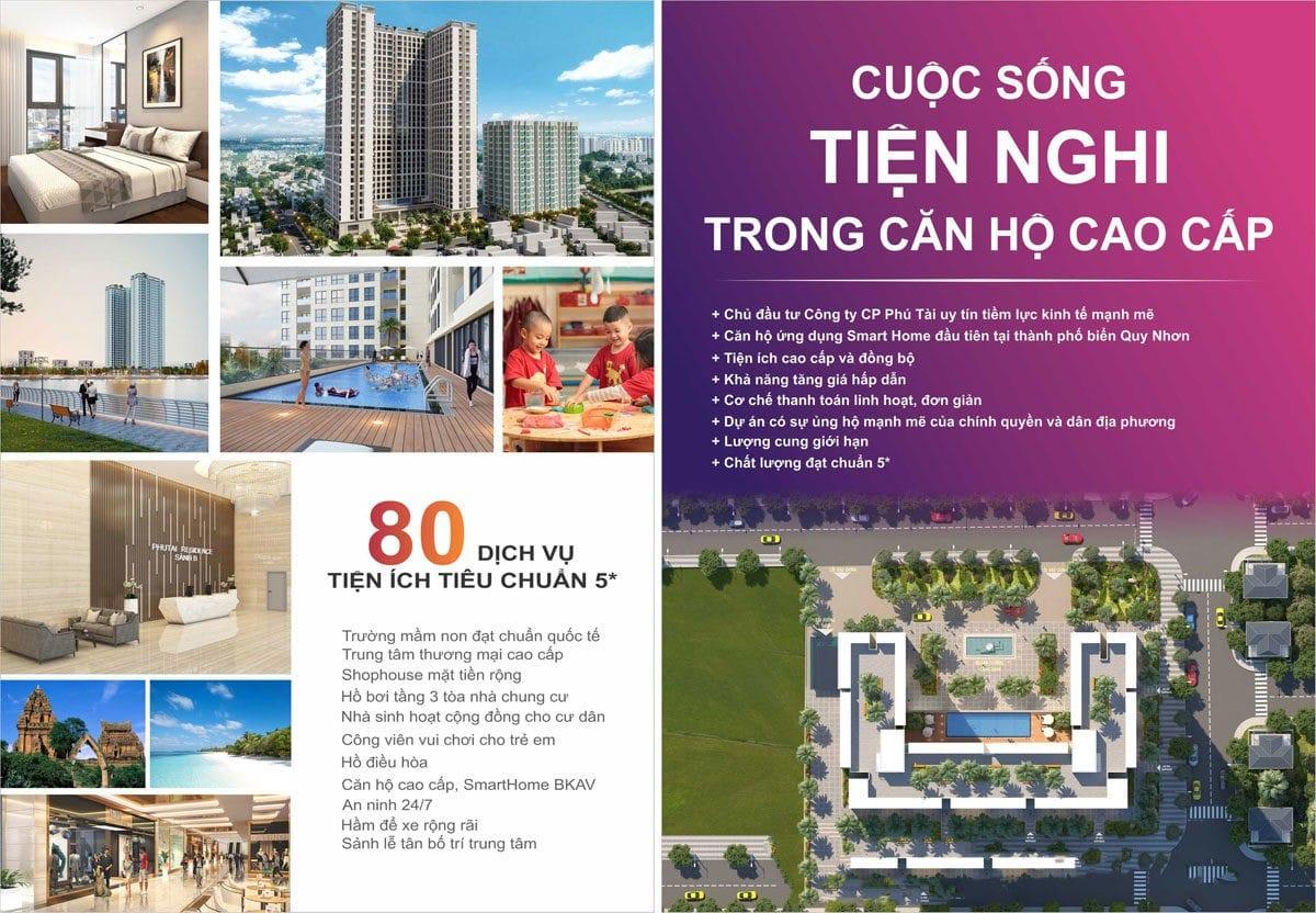 tien ich du an can ho phu tai residence - CĂN HỘ CHUNG CƯ PHÚ TÀI RESIDENCE QUY NHƠN