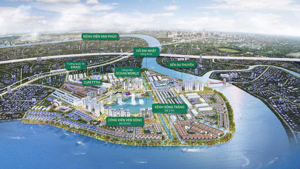 tien ich du an khu do thi van phuc city - DỰ ÁN BIỆT THỰ VẠN PHÚC MANSION THỦ ĐỨC