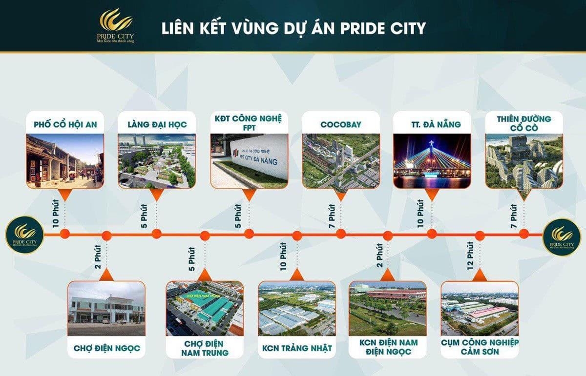 tien ich lien ket vung du an pride city - DỰ ÁN PRIDE CITY ĐIỆN NGỌC QUẢNG NAM
