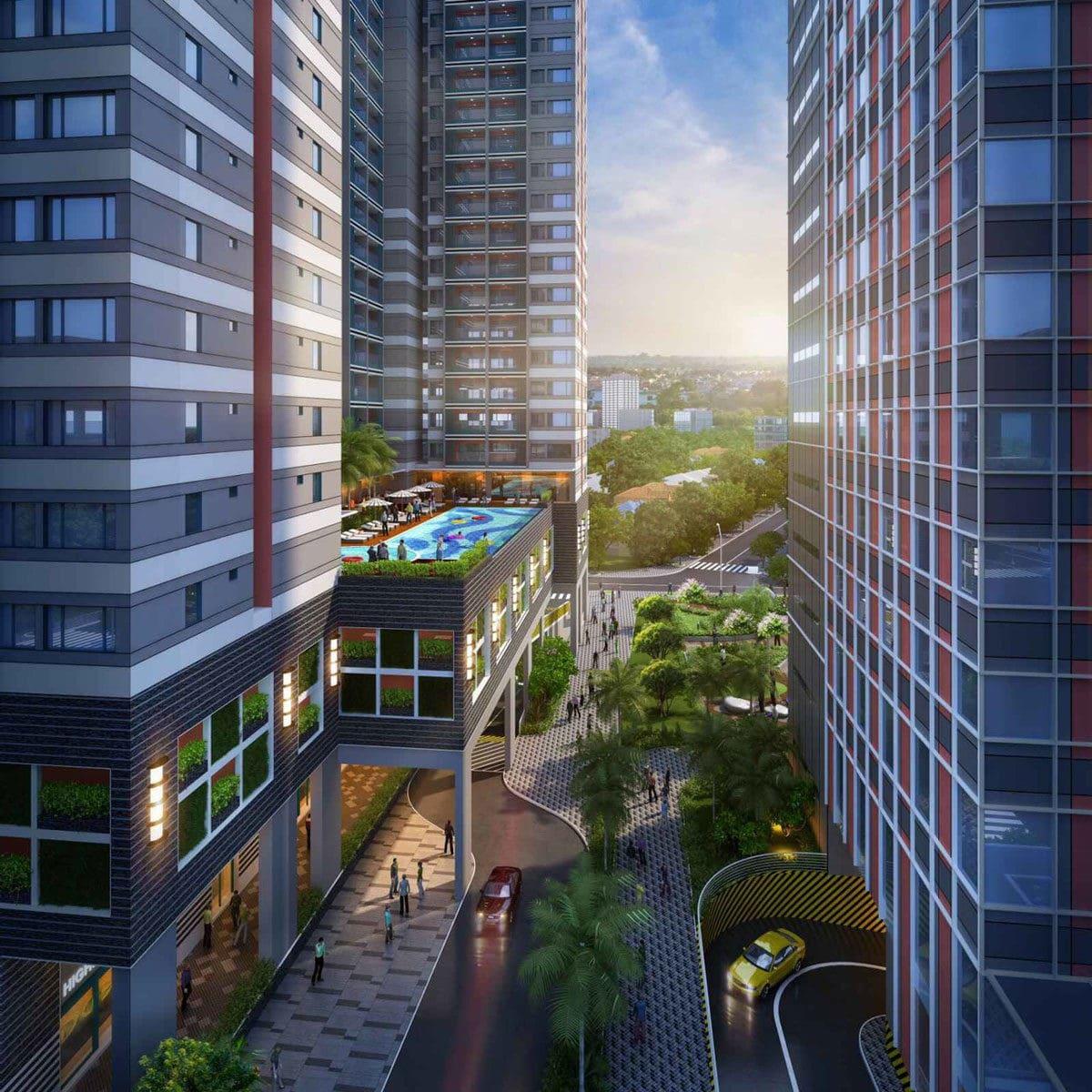 Tiện ích nội khu Dự án Căn hộ Grand Center Quy Nhơn